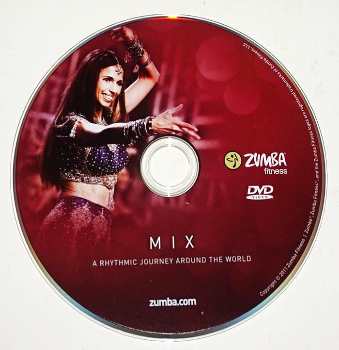 zumba fitness mix replacement dvd 1 disc only exercise workout ebay. Black Bedroom Furniture Sets. Home Design Ideas