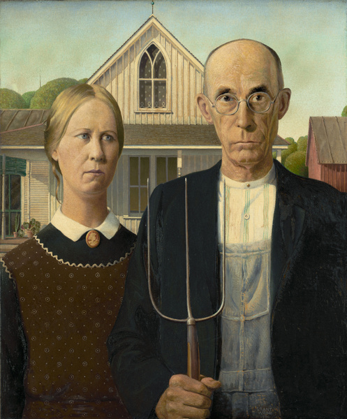 American Gothic by JustineSaldana