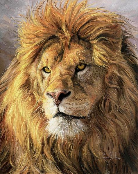 lion by JustineSaldana
