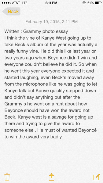 Written: Grammy Photo Essay by NicoFlores