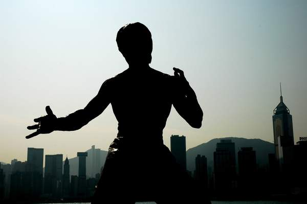 Bruce Lee in Hong Kong