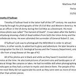 Photographer's Bio