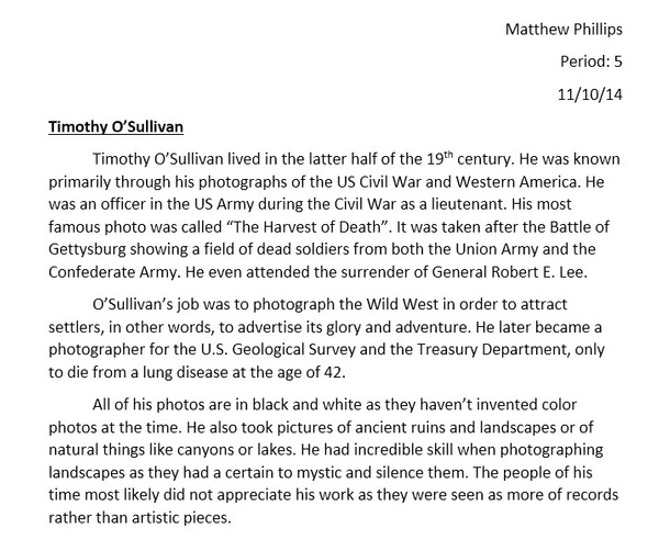 Photographer's Bio by MatthewPhillips