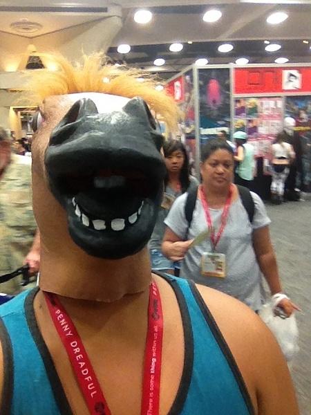 Horse mask fun by RyanAvelino