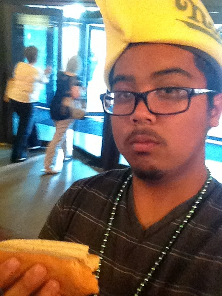 Nathans Hot Dog Selfie by RyanAvelino