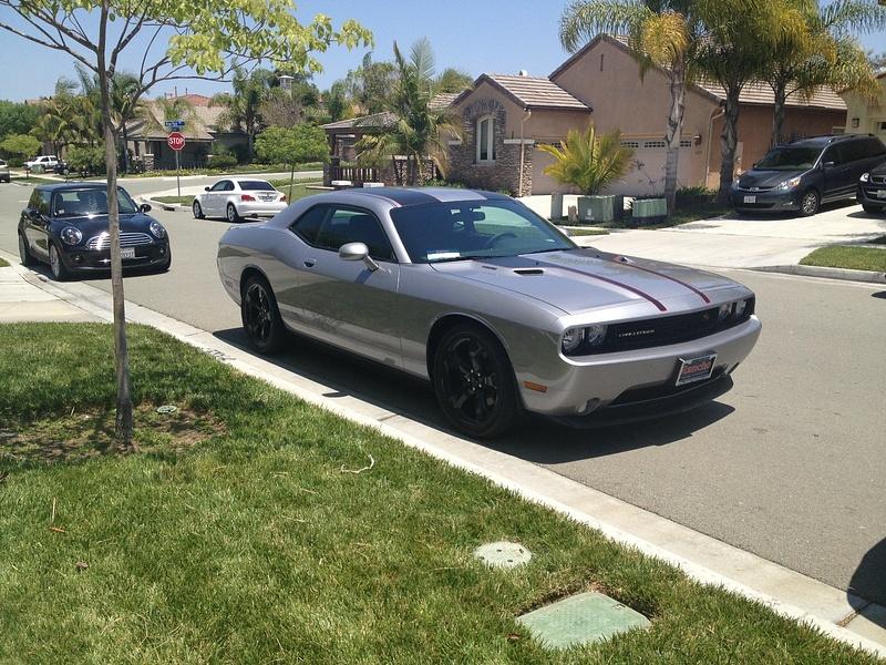 Dodge Challenger and Cooper