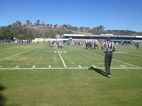 Charger Field Practice by RyanAvelino
