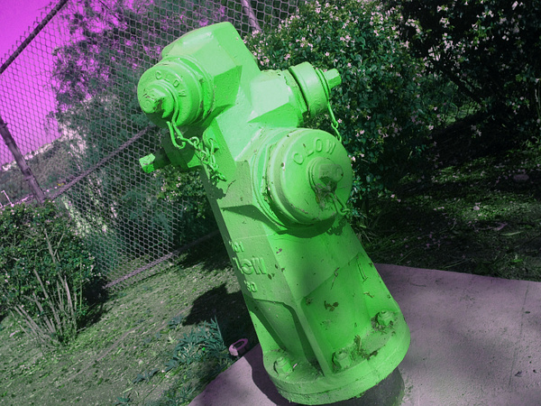 Wrong Color Hydrant by RyanAvelino