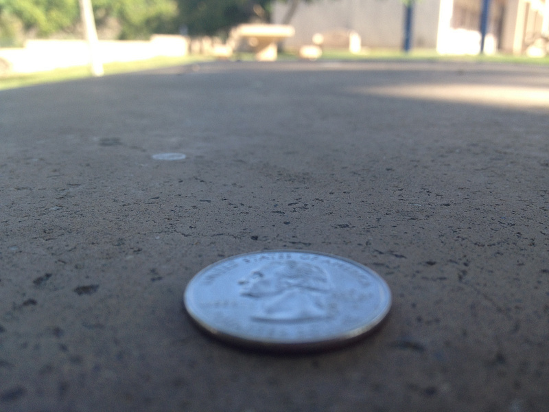 Quarter on Senior Table