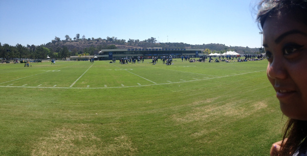 Panoramic at Charger field by RyanAvelino