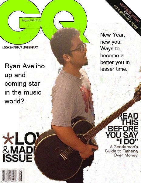 GQ magazine cover by RyanAvelino