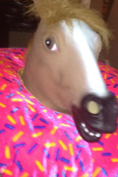 Donut Horse Around by RyanAvelino