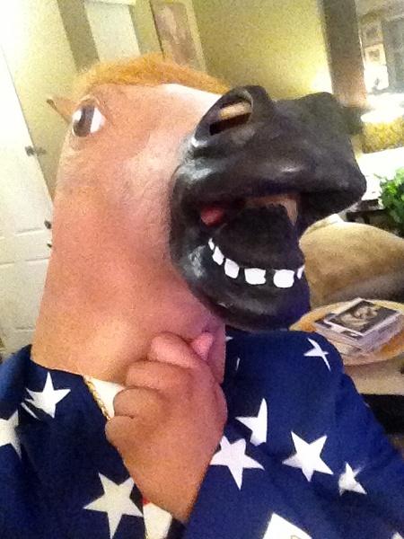Horse Selfie by RyanAvelino