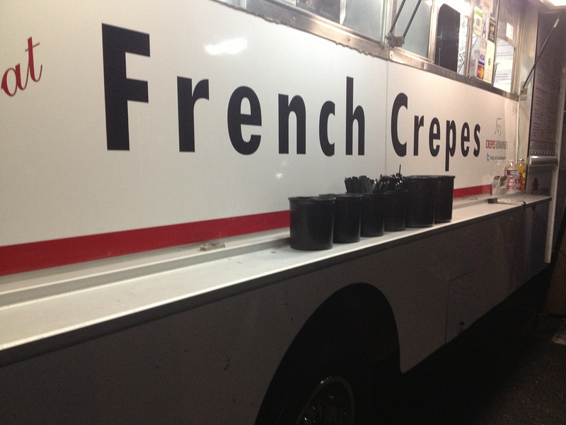 French Crepe Food Truck