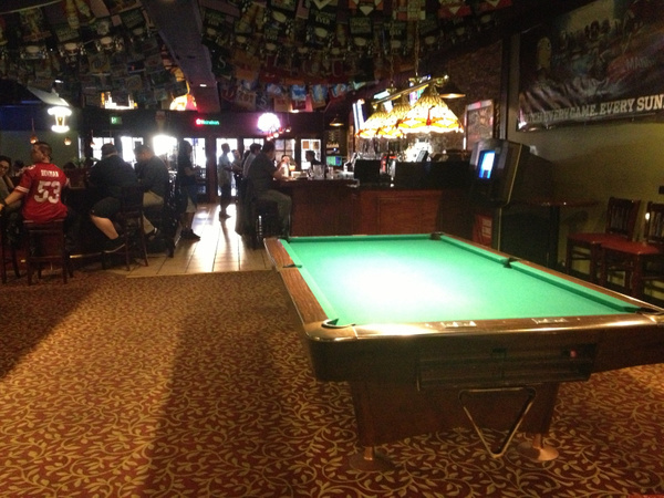 Pool Table in Burbank by RyanAvelino