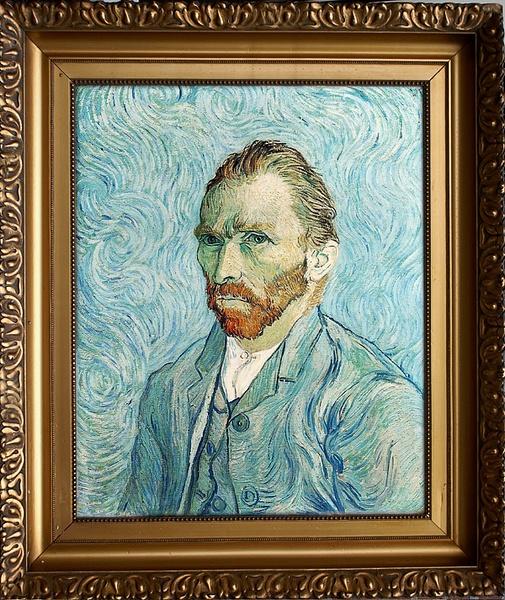 Van Gogh selfie by RyanAvelino