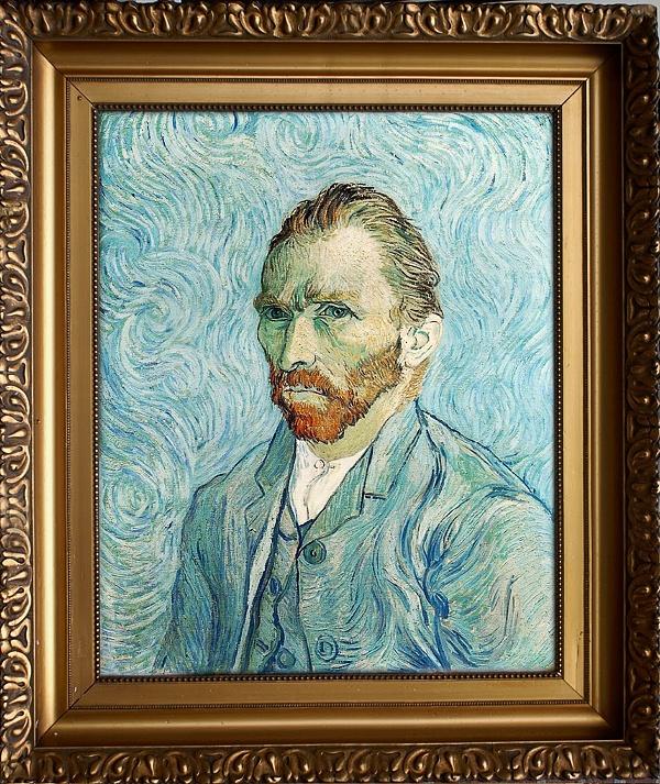 Van Gogh selfie