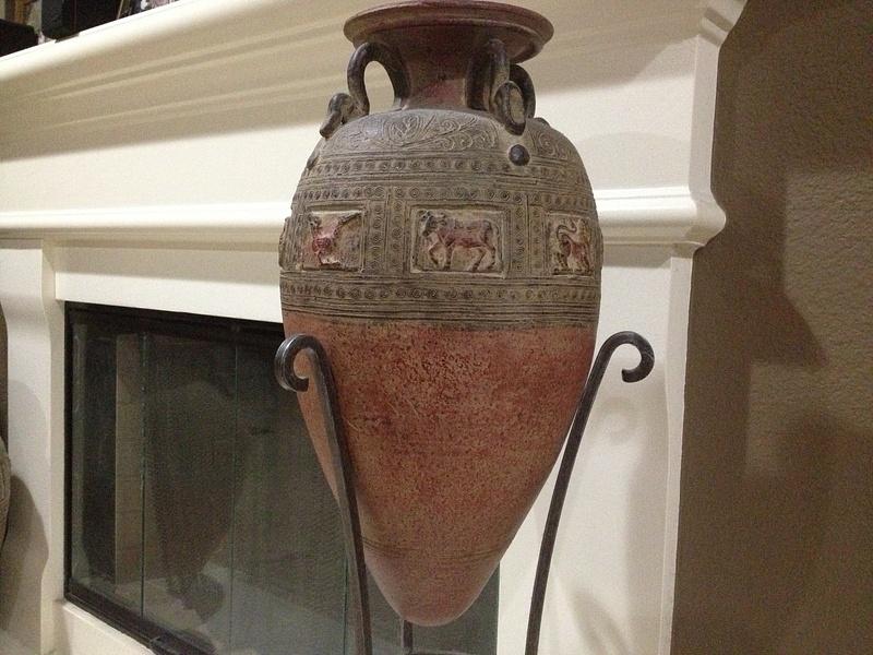 Man made vase