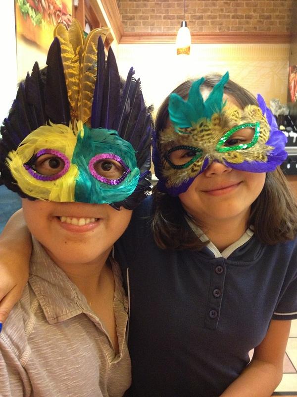 Super fancy masquerade