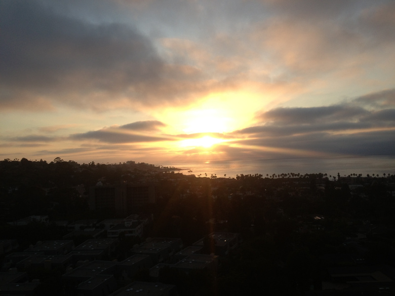 View from La Jolla penthouse