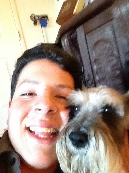 Me and my dog by SalvadorVicentebanuelos