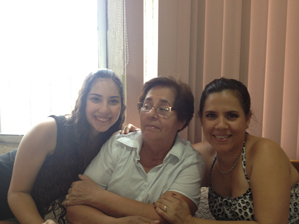 Cousin, Mom and Grandma by SalvadorVicentebanuelos