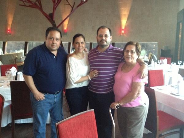 Mom, Dad, Uncle and Grandma by SalvadorVicentebanuelos