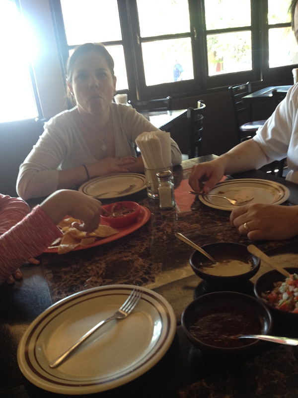 Eating carnitas for breakfast