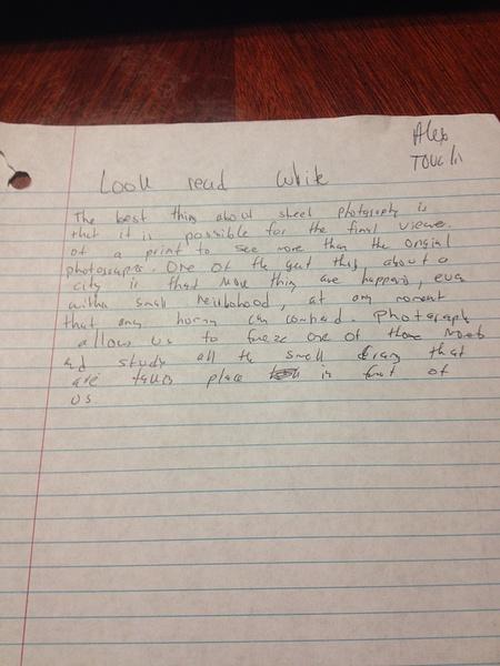 Look read write by AlexTovalin