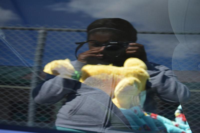car window selfies