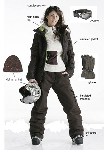 Women Ski Clothing by ColinHolmes