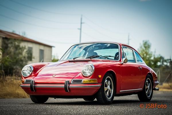 Red 1968 911 by Jsbfoto