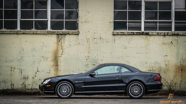 2003 Mercedes SL55 by Jsbfoto