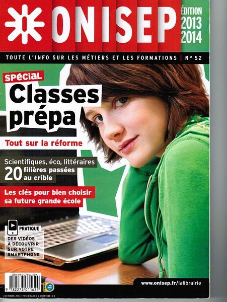 ONISEP CLASSE PREPA ARTICLES by MickeyMom