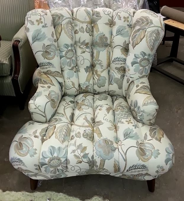 Reupholstery chair
