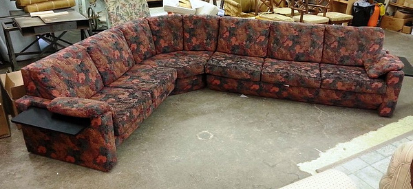 Old Sectional by Lincoln Interiors