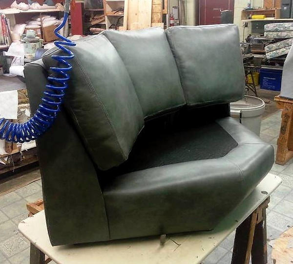 New Sectional Corner by Lincoln Interiors