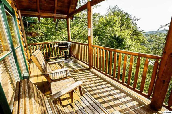 14 Back Deck with Rockers & Grill by JaniceTabor