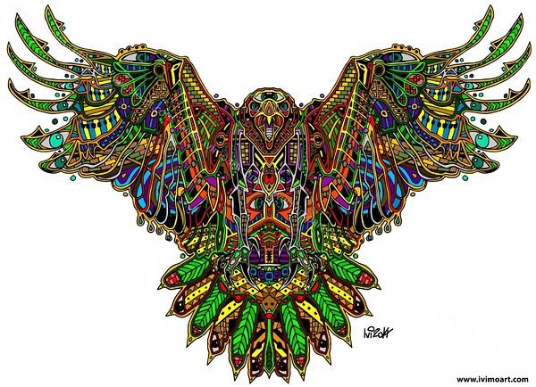 Pineal Eagle by IviMoArt