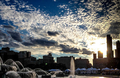 Chicago clouds by MichaelPrince