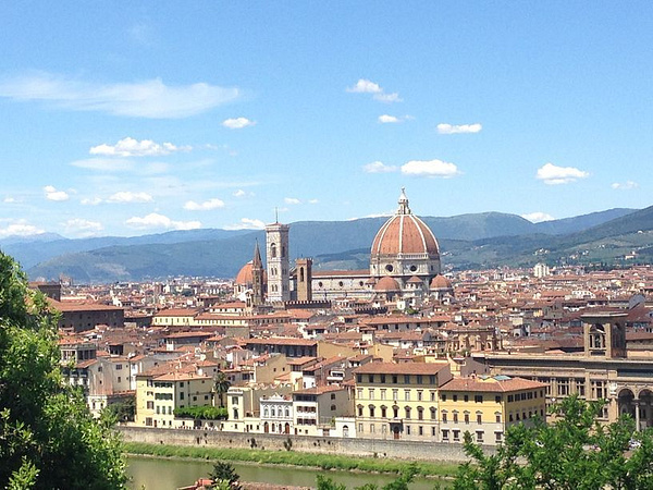 The view from Piazzale Michelangelo by BradAndDebbie