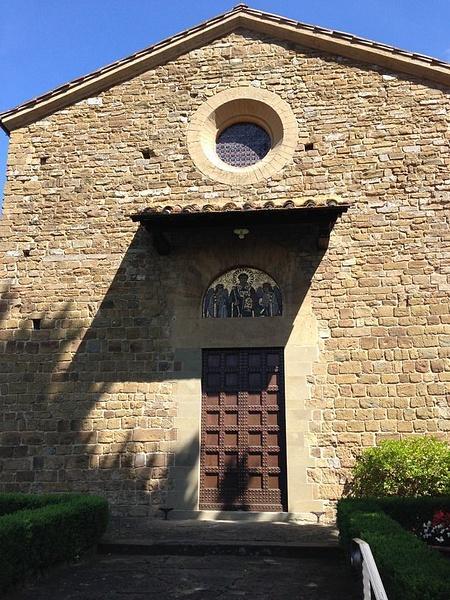 An early Orthodox church on the road to Boboli Gardens by BradAndDebbie