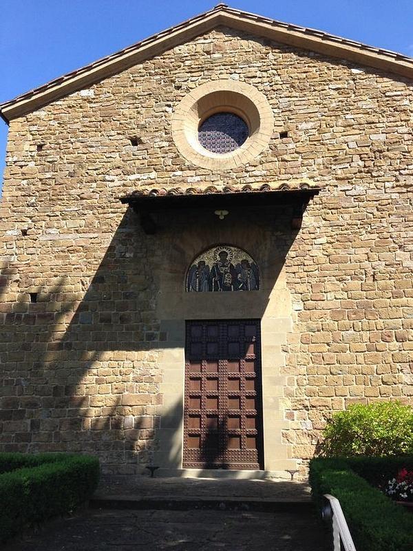 An early Orthodox church on the road to Boboli Gardens