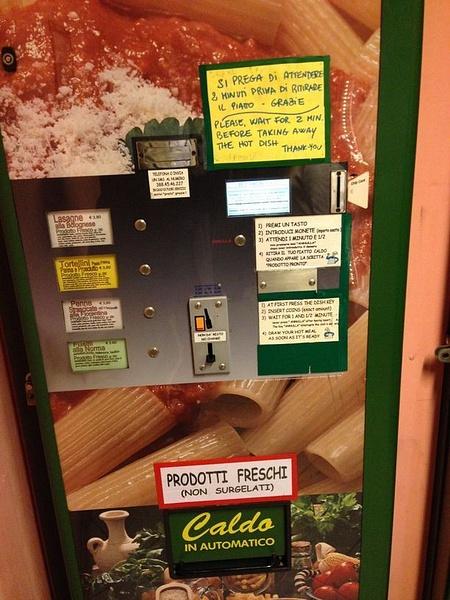 A pasta vending machine by BradAndDebbie