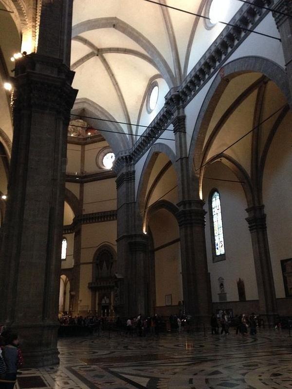 Il Duomo entry area