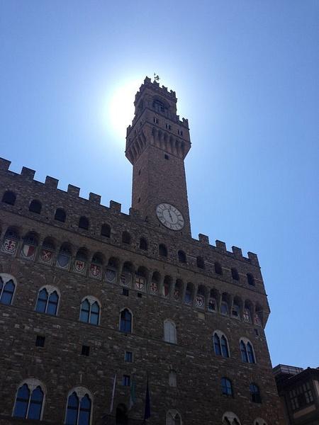 Palazzo Vecchio - city hall & (duke's) mayor's home by BradAndDebbie