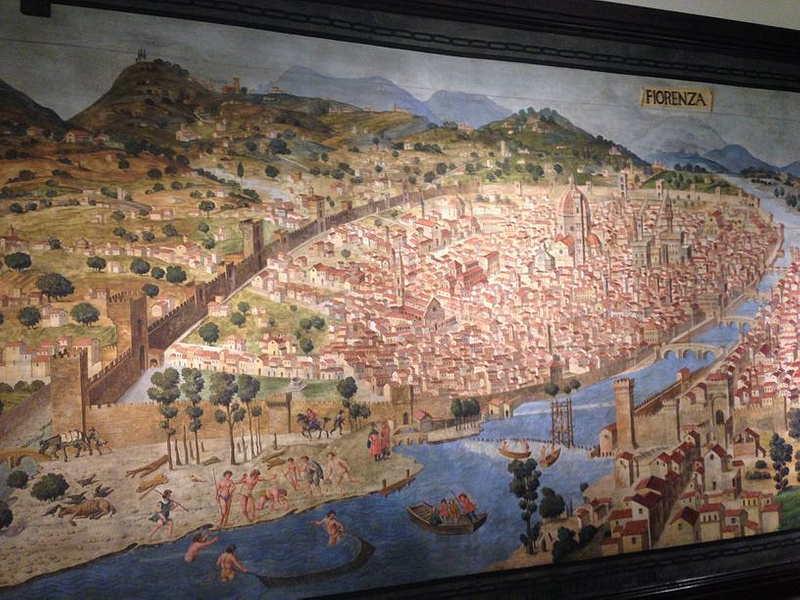 Painting of Florence