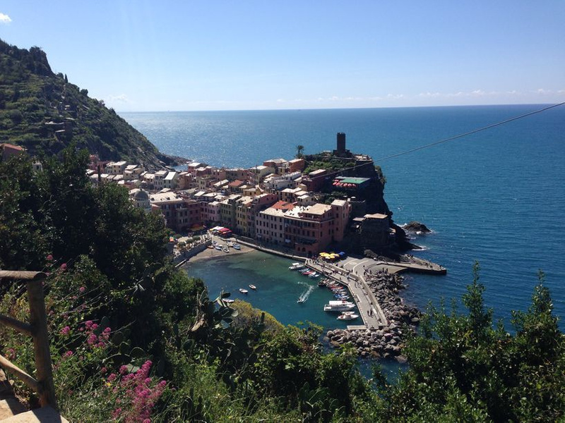A view of Vernazza