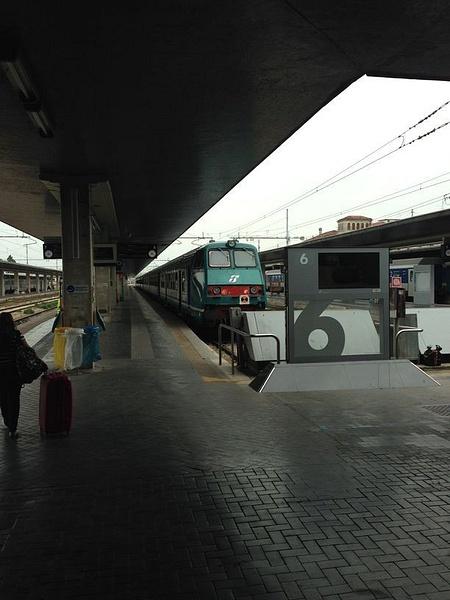 Venice train station by BradAndDebbie