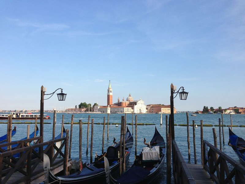 San Giorggio Maggiore across the mouth of the Grand Canal from St. Mark's Plaza